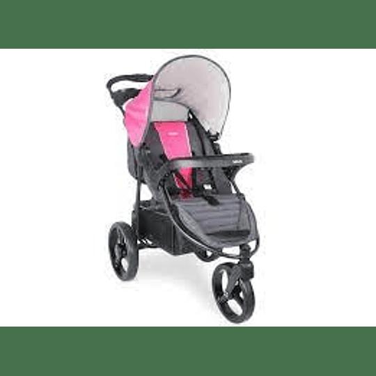 Coche travel system Infanti Tizzy con huevito rosado p60