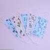 Mascarilla de protección desechable Infantil  3 pliegues / 3capas 50 unidades - 5 Diseños (caja celeste)