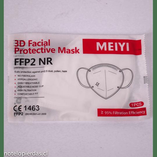 Mascarilla facial  FFP2 NR