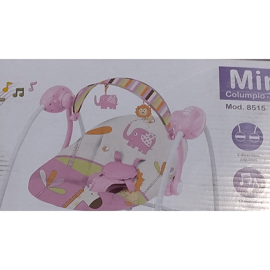 Silla Bebesit Mimo rosada