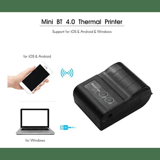 Impresora de boletas Bluetooth