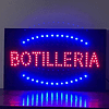 Cartel Led / Led Sign 32x54 Botillería