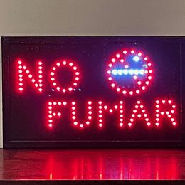 letrero luminoso Led / Led Sign 32x54 No Fumar