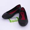 Zapatos Lina Flat W 37-38 Negro Crocs