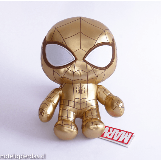 Peluche Golden spider man Marvel 25cm