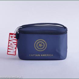 Bolso Silicona Marvel Capitan America Azul