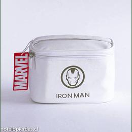 Bolso Silicona Marvel Iron Man blanco