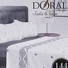 Juego de sábanas 144 hilos Doral 1 plaza/single