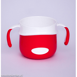 Vaso con asas 200ml Fisher-Price rojo