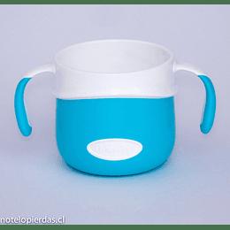 Vaso con asas 200ml Fisher-Price azul