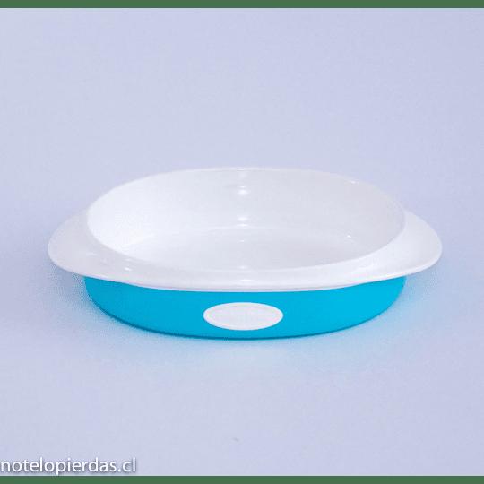 Plato grande 200ml Fisher-Price azul
