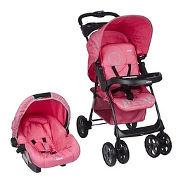 Coche + huevito infanti kei rosado