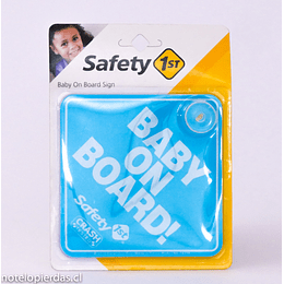 Signo Baby On Board! celeste Safety