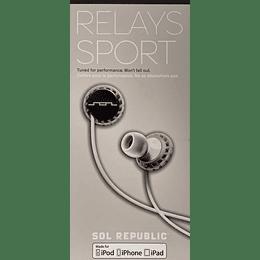 Audífono Relays Sport Sol Republic EP1151WT
