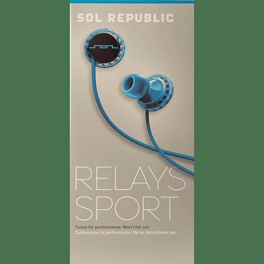 Audífono Relays Sport Sol Republic 1152-36 BLU