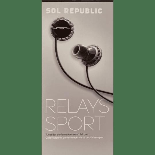 Audífono Relays Sport Sol Republic 1152-31 BLK