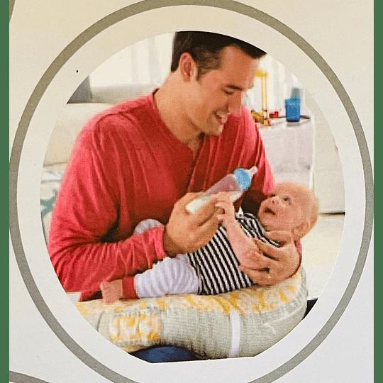 Cojín de lactancia multifuncional con gimnasio