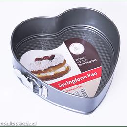 Molde Corazón Desmontable Teflón Anti-adherente 24x7cm