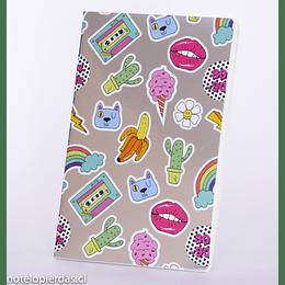Cuaderno Tapa diseño 13,5x20,5 línea