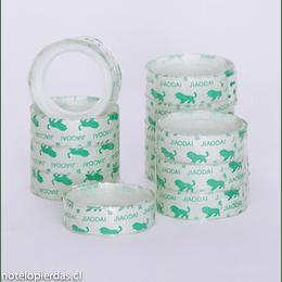 Set 12 rollos cinta adhesiva