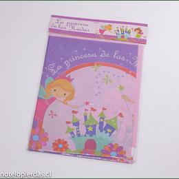 Mantel plástico de cumpleaños La Princesa de las Hadas