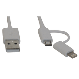 Cable micro USB y Iphone Dag 1,5 metros