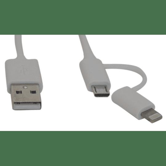 Cable micro USB y Iphone Dag 1,5 metros