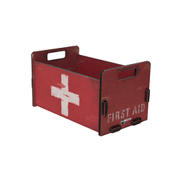 Caja organizadora decorativa S First aid  Inspirations 20x11x12