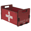 Caja organizadora decorativa S First aid  Inspirations 20x11x12