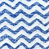 Alfombra piso baño azul blanco