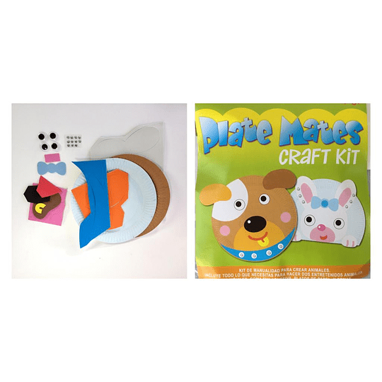 Kit plate mate alinsa perro