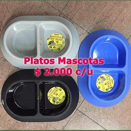Platos mascotas