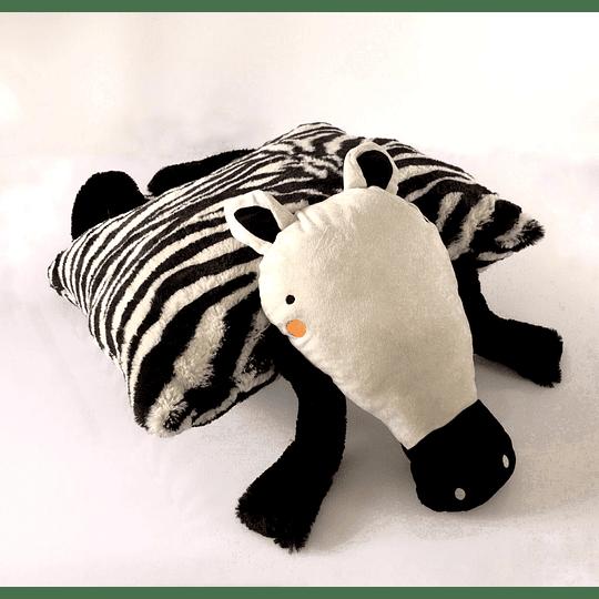 Cojín 50x50 cm cebra