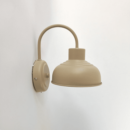Lámpara metal diseño 4 . Farol 16 cm diámetro