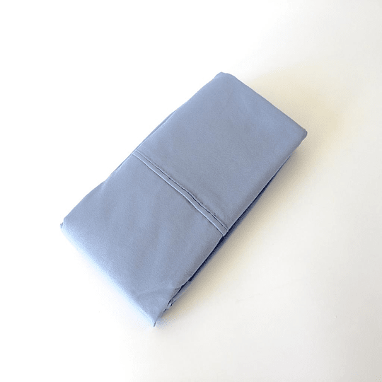 Set 2 fundas almohada microfibra 80g. 50x70 cm