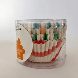 80 cápsulas muffin papel