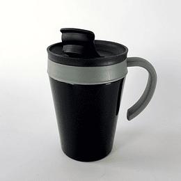Mug térmico negro 380 ml