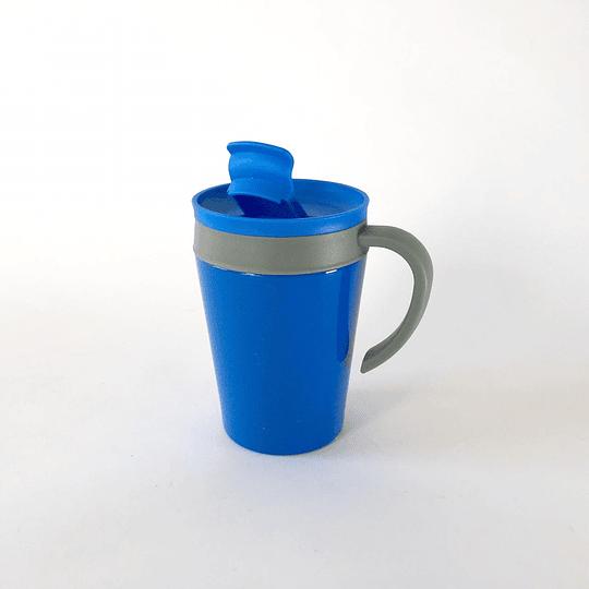 Mug térmico azul 380 ml casaideas