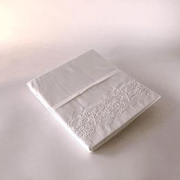 Cortina para baño blanca