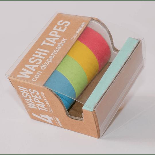 Washi Tapes con Dispensador Color