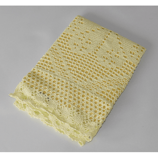 Funda cojin 40x40  amarilla