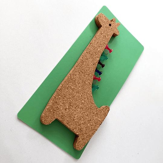 pizarra de corcho magnetica jirafa casaideas