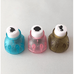 Set 3 perforadoras motivos marinos