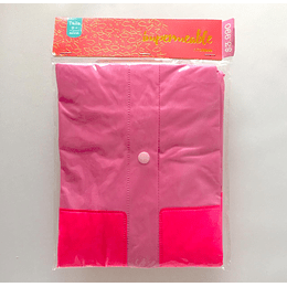 Poncho Impermeable rosado casaideas