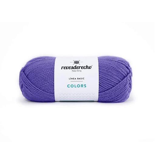 Lana Colors violeta claro 0038