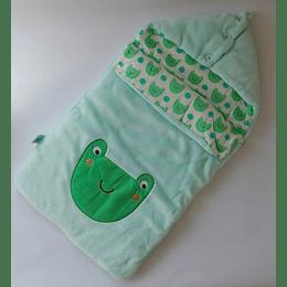 Saco de Dormir Bebé 0-6meses Ranita