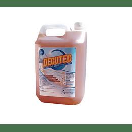 Desinfectante Decutec 5Lts Amonio Cuaternario con Nanopartículas Cobre