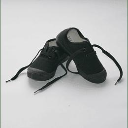 Zapatillas Lona negra 26 al 44