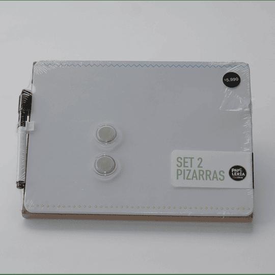 Set 2 Pizarras