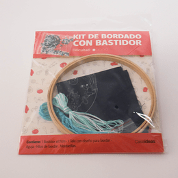 Kit de Bordado con Bastidor